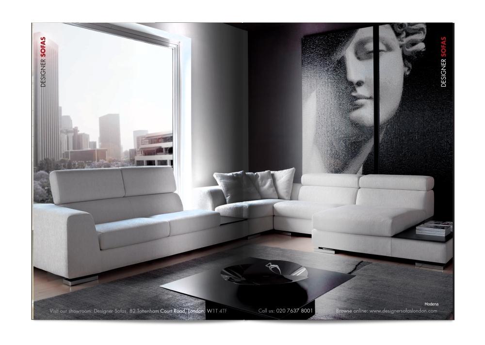 Designer Sofas Brochure Spread